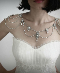 shoulder necklace,Necklace for the Shoulder, Wedding Stateman