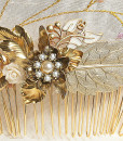 hair comb,wedding vintage- mae