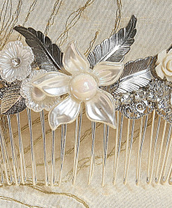 Bridal Hair comb and Hair pins
