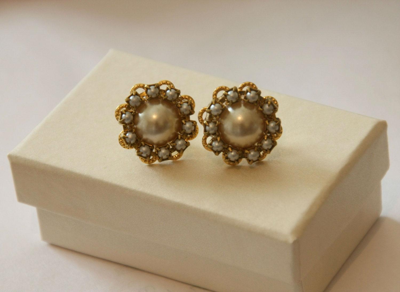 Pearl Earrings Lorene Efrat Davidsohn