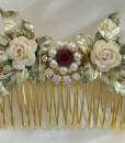 Bridal-Ruby-Hair-Comb-Wedding-ruby-hair-accessories-Ruby