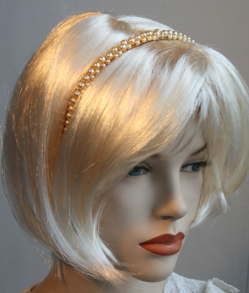 Bridal Pearls Headband,Hair band, pearly,hair accessories