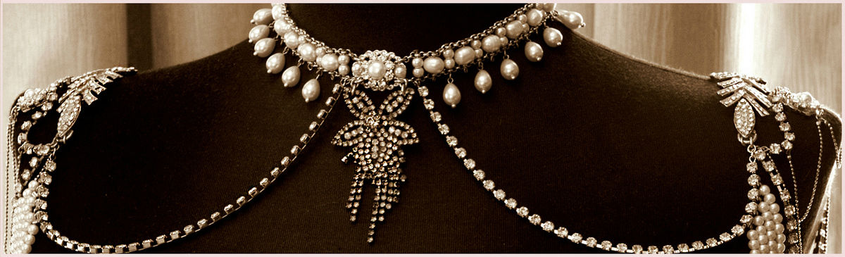 Necklace For The Shoulders,1920s Style 3